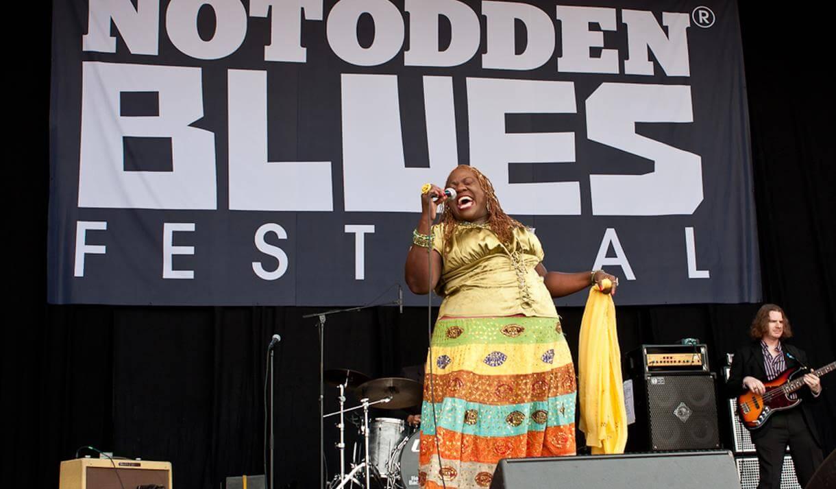 Konsert på Notodden Blues Festival