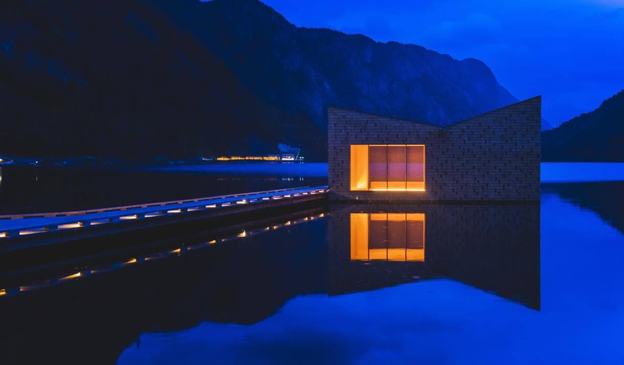 Sauna på vannet i Dalen